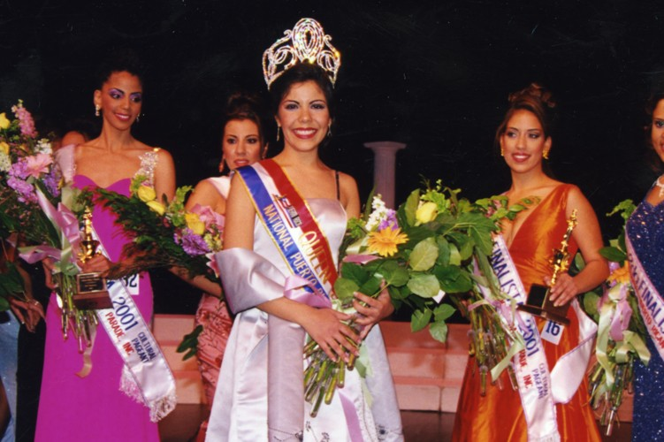 Group of Women at a Pageant
