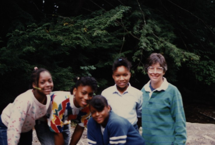 Peshine Ave- Students in Montgomery, MA 1988