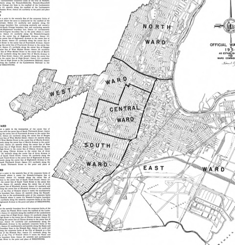 Official Ward Map