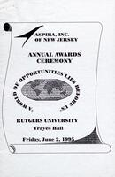 Annual Awards Ceremony Program TCHS-Mercer County