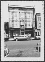 #105 Roseville Ave. Sculptured bust on facade.? Mar 1959