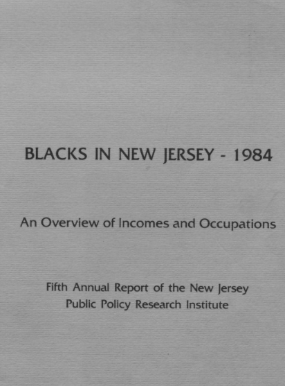 Blacks in New Jersey Reports