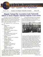 Hispanic National Bar Association-Spring 93 Newsletter