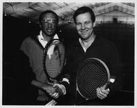 Arthur Ashe and Tom Kean