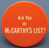 Are You on McCarthy's List?