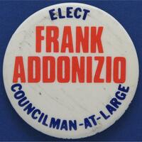 Elect // Frank Addonizio // Councilman-at-Large