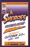 "Cover for ""Sheroes"" event"