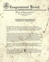 Congressional Resolution 35th Anniversary