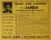 Issues and Answers with Sharpe James