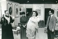 Actors depicting a scene