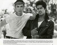 "Lou Diamond Philips and Esai Morales, stars of ""La Bamba"""