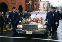 Funeral service of fallen officer