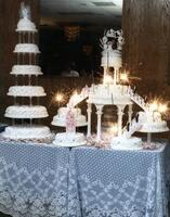 Teixeira's Bakery Wedding Cake