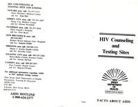 Facts About AIDS Pamphlet