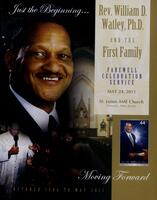 Rev. William D. Watley  Farewell Celebration Service