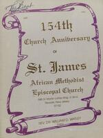 154th Church Anniversary