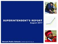 Superintendent's Report - August 2017