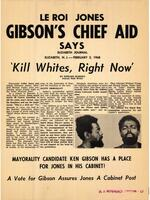 Anti LeRoi Jones (Amiri Baraka), anti-Gibson Flier