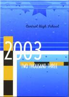 Central High School Yearbook 2003