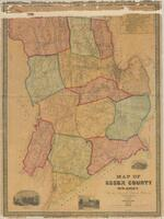 """Map of Essex County, New Jersey - with the names of property holders, etc."