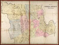 """Map of Essex County, New Jersey"""