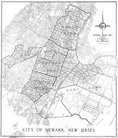 1953 Official Ward Map