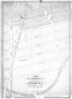 """Map of Property in the City of Newark, NJ to sold on the ____ day of October 1836"""