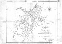 """Map of Property at Newark NJ Belonging to John W. Inness Esquire to be sold on the premises on the ___ day of ___ 1835 at ___ o'clock in the afternoon by ___ Auctioneer"""
