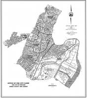 1992 Official Ward Map
