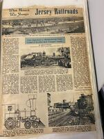 When Newark Was Younger:  Jersey Railroads