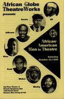 African American Men in Theatre