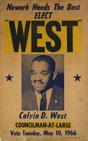 "Newark Needs the Best Elect ""West"""