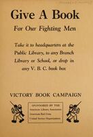 Give a book for our fighting men