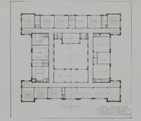 Central Commercial and Manual Training High School. Third Floor Plan