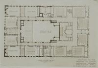 Addition to the Morton Street School. First Floor Plan