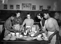 Cleveland Junior High School Cooking--Home Economics