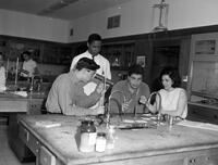 Barringer High School Science Lab