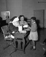 Central High School- Child and Santa