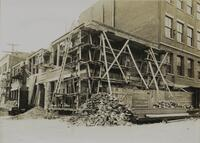 [untitled] Construction of 7th Avenue School [addition?]