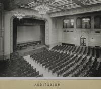 Central High School. Auditorium