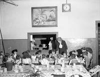 Abington Avenue School Cafeteria Miss Brennan