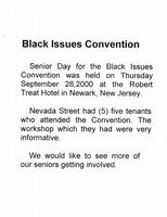 Black Issues Convention