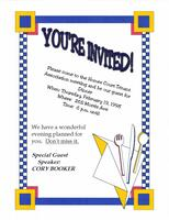 Homes Court Tenant Association Meeting and Dinner