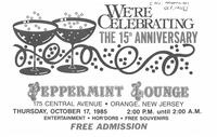 Peppermint Lounge 15th Anniversary