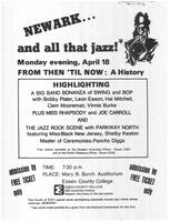 Newark and all that jazz!
