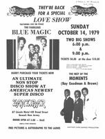 Love show featuring Blue Magic