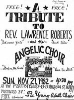 A Tribute to Reverend Lawrence Roberts and the Angelic Choir