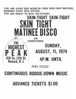 Skin Tight Matinee Disco