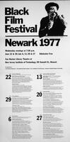 Black Film Festival Newark 1977