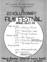 A Revolutionary Film Festival